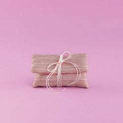 Μπομπονιέρα Γάμου Φακελάκι Σάπιο Μήλο με Πέρλα