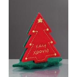 Χριστουγεννιάτικο Επιτραπέζιο Στολίδι Δεντράκι