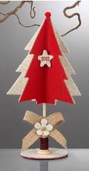 Χριστουγεννιάτικο Δεντράκι με Ξύλινη Κουβαρίστρα