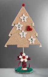 Επιτραπέζιο Χριστουγεννιάτικο Δεντράκι με Καμπανάκια