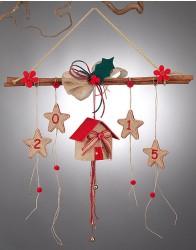 Κρεμαστό Χριστουγεννιάτικο Στολίδι με Κανέλα