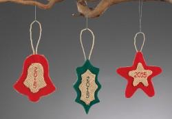 Χριστουγεννιάτικα Κρεμαστά Στολίδια για το Δέντρο