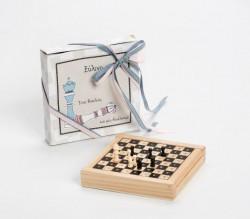 Ξύλινο Σκάκι για Μπομπονιέρα Βάπτισης