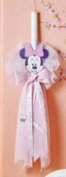 Βαπτιστική Λαμπάδα της Disney με την Minnie