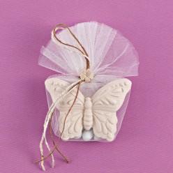 Μπομπονιέρα Γάμου Αρωματική Ακρυλική Πεταλούδα