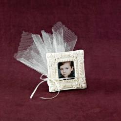 Μπομπονιέρα Βάπτισης Αρωματική Κορνίζα για Φωτογραφία