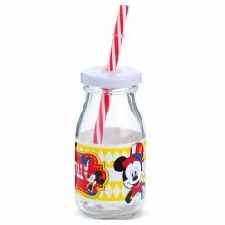 Γυάλινο Μπουκάλι Mickey για Μπομπονιέρα Βάπτισης