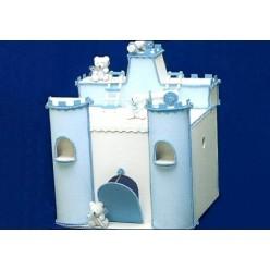 Ξύλινο Κουτί Βάπτισης Κάστρο