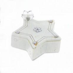 Μπομπονιέρα Βάπτισης Μπιιζουτιέρα Σχήμα Αστεράκι