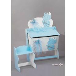 Κουτί ξύλινο για βάπτιση με θέμα τον πρίγκιπα