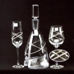 Κρυστάλλινο σετ Καράφα και Ποτήρι 925