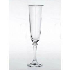 Ποτήρι σαμπάνιας από κρύσταλλο Βοημίας