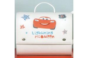 Δερμάτινη Βαλίτσα της Disney με τον Mc Queen